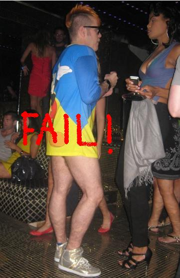 perez-hilton-coco-perez-launch-party-no-pants-lady-gaga-fail