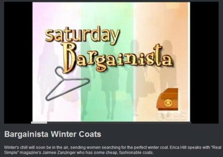 bargainista on coats